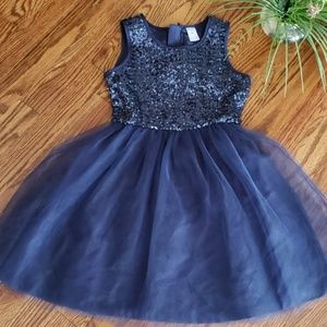 Carter's Navy Blue Girl's Dress